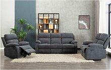 Relaxsessel Fernsehsessel TOLZANO - Stoff -