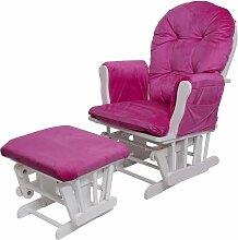 Relaxsessel HHG-721, Schaukelstuhl Sessel