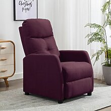 Relaxsessel Lila Stoff2149-A