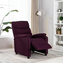 Relaxsessel Lila Stoff4440-A