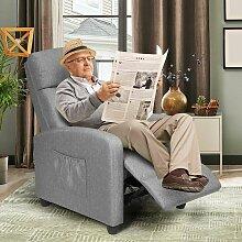 Relaxsessel mit verstellbaren Rueckenlehne und