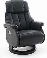 Relaxsessel, Sessel, Fernsehsessel, Ledersessel, TV-Sessel, Loungesessel, Lesesessel, Funktionssessel, schwarz, elektrisch, Motor, Akku