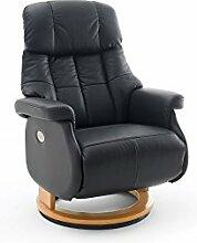 Relaxsessel, Sessel, Fernsehsessel, Ledersessel, TV-Sessel, Loungesessel, Lesesessel, Funktionssessel, schwarz, natur, elektrisch, Motor, Akku