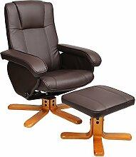 Relaxsessel Sessel TV Wohnzimmersessel Hocker