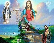 Religiös Jesus Diamant Gemälde 5D DIY Voll