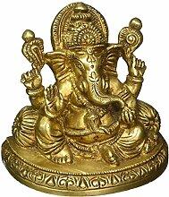 Religiöse Figuren Skulpturen Metall Ganesha Figur