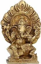 Religiöse Geschenke Ganesha Messing Figuren und
