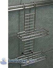 Relingsystem Ablagekorb KR07 Reling-System Küchenreling Ordungssystem Küche Küchenregal