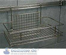 Relingsystem Ablagekorb KR12 Reling-System Küchenreling Ordungssystem Küche Küchenregal