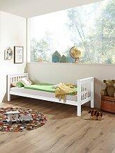 Relita Einzelbett Kick, mit Rolllattenrost, Buche