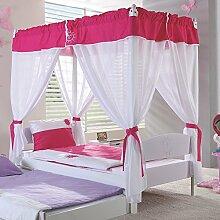 Relita Himmelbett Kinderbett Stella 90 x 200cm mit