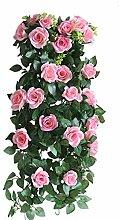 Remeehi cm künstliche Rose, Seidenblume,
