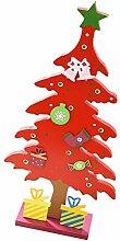 remeehi Weihnachten Adventskalender aus Holz