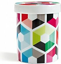 Remember Porzellandose Hexagon x 8,5 x 8,5 x 10,5 cm