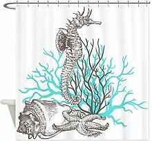 remmber me Ozean Seepferdchen Seestern Muschel