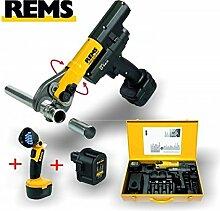 REMS Press + Set Akku Taschenlampe Zubehör Li-lon
