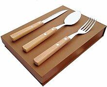 Ren Handwerk Best Holz Griff Besteck Sets Antik
