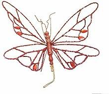 Renaissance 2000Draht Schmetterling mit Jewel
