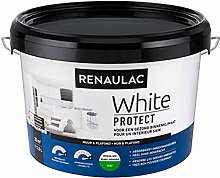 Renaulac Wandfarbe, Weiß, matt, 2,5 l