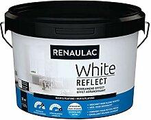 Renaulac White Reflect Wandfarbe, satiniertes