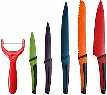 Renberg Flash 6-tlg. Messer-Set aus Edelstahl