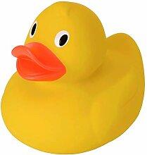 rendaffe Extragroße XL Badeente in gelb -