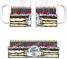 rendaffe - Kaffeebecher Tasse Kaffeetasse Becher