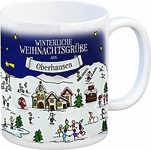 rendaffe - Oberhausen Weihnachten Kaffeebecher mit