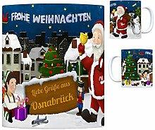rendaffe - Osnabrück Weihnachtsmann Kaffeebecher