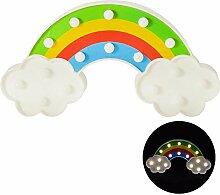 rendaffe Regenbogen Dekolampe mit 16 LED - Rainbow