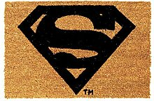 rendaffe Superman Fußmatte - Superman Logo