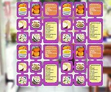 rendfinding 4 Segmente Foto Deko Karten Raumteiler
