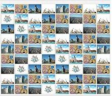 rendfinding® Fotovorhang 10 x 15 cm für 72 Fotos