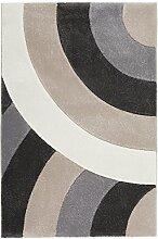 rendiger Design Teppich maschinengewebt beige ca. 160 x 230 cm