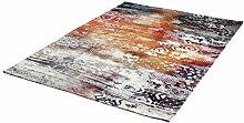 rendiger Teppich Flachgewebe bunt ca. 160 x 230 cm