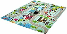 rendiger Teppich Strasse for Kids ca. 80 x 120 cm