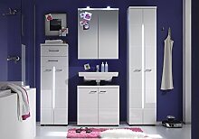 rendteam Badezimmer 4-teilige Set Kombination