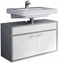 rendteam Badezimmer Waschbecken Unterschrank
