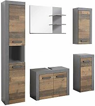 rendteam smart living Badezimmer 5-teilige Set