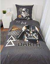 Renforcé-Kinderbettwäsche Star Wars
