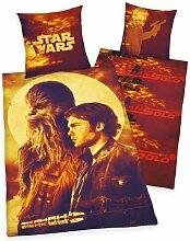 Renforcé-Wendebettwäsche Star Wars Solo Star Wars