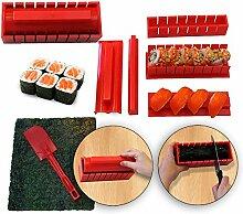 RenGard Sushi Making Kit Deluxe Edition mit