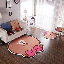 Renjie Cartoon Mädchen Bär Muster Kinderzimmer