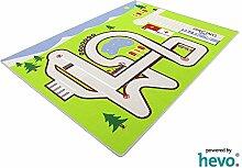 Rennstrecke HEVO® Spielteppich | Kinderteppich 130x180cm
