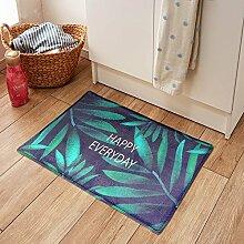RENQINGLIN Die Küche Fußmatte Fußmatte Fußmatte Im Innenbereich Schlafzimmer Home Sanitär Saugfähigen Rutschfeste Matte 40 * 60 Cm, C