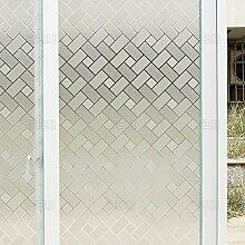RENQINGLIN Klebstoff Freie Statische Glastür