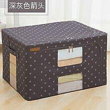 RENQINGLIN Kleidung Und Rezeption, Oxford Textil, Stoff, Karton, Stoff Tasche Stauraum Feld 50 * 40 * 20 Cm, F