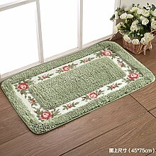 RENQINGLIN Küche Wc Matte Fußmatte Fußmatte Teppich Matten Bad Sanitär Saugfähig 40 * 60 Cm, Ein