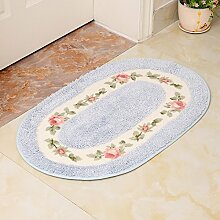 RENQINGLIN Küche Wc Matte Fußmatte Fußmatte Teppich Matten Bad Sanitär Saugfähig 40 * 60 Cm, F