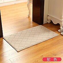 RENQINGLIN Sanitär Saugfähigen Türmatten Außerhalb Der Tür Zum Bad Fußmatte Mat Mat Wasser Halle 40 * 60 Cm, D